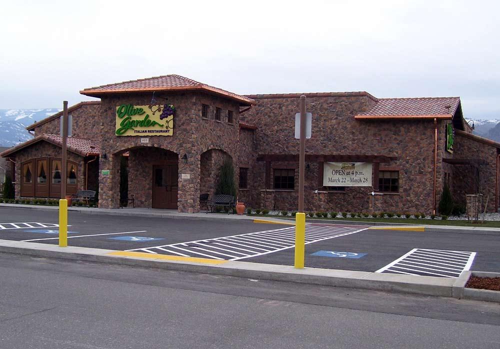Olive Garden E Wenatchee Land Survey Erlandsen Inc