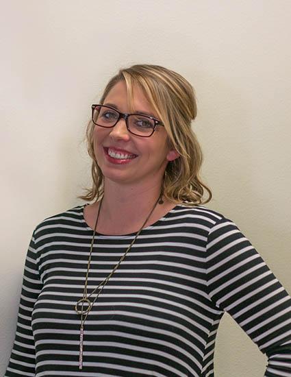 Amy Erlandsen - Receptionist